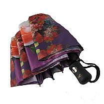 Зонт полуавтомат Susino цветочный принт Разноцветный (43006-6), фото 3