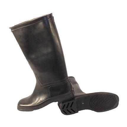 Сапоги резиновые КЗРО Шахтёрские черные 44, 45, фото 2