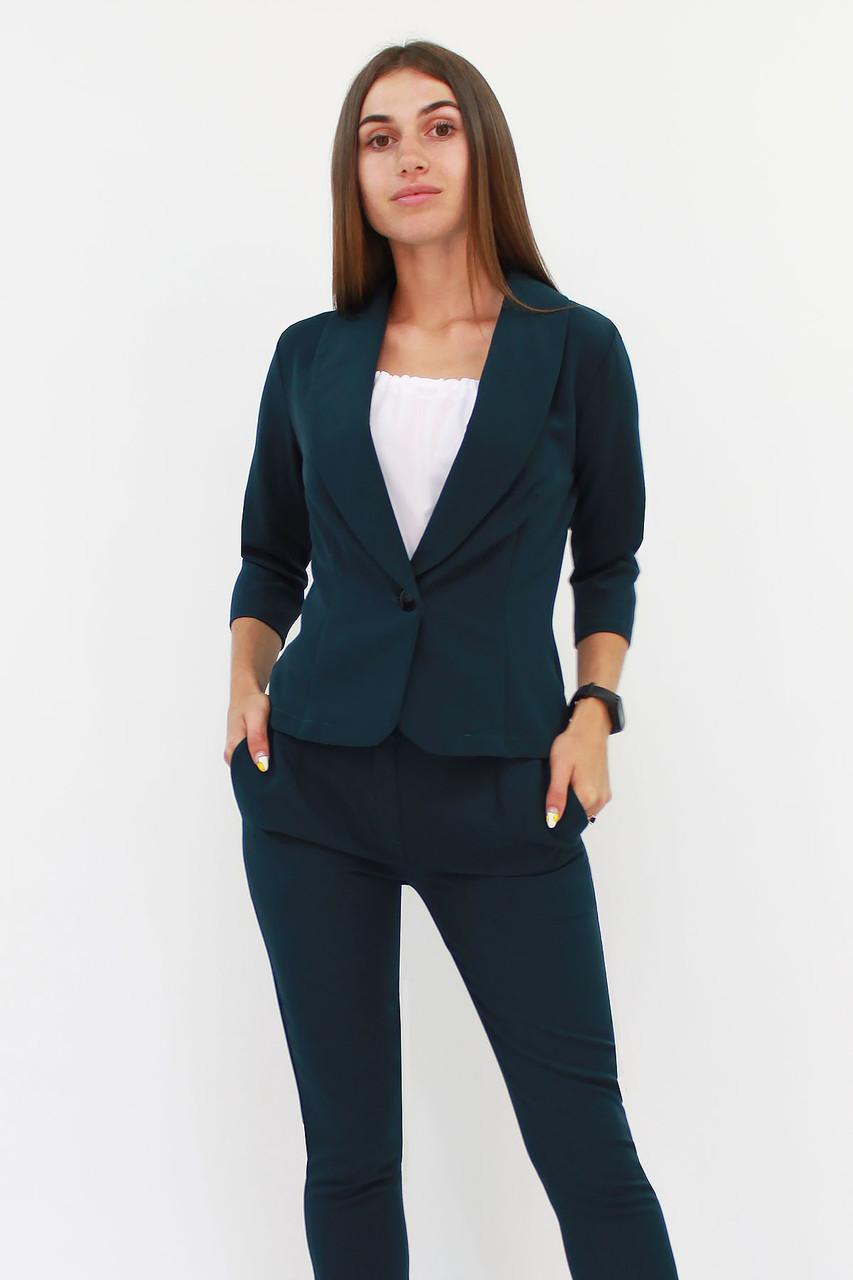 S, M, L, XL / Вишуканий жіночий костюм Melage, зелений