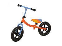 Беговел детский Bambi 10TB2-2 10д. оранжевый-голубой