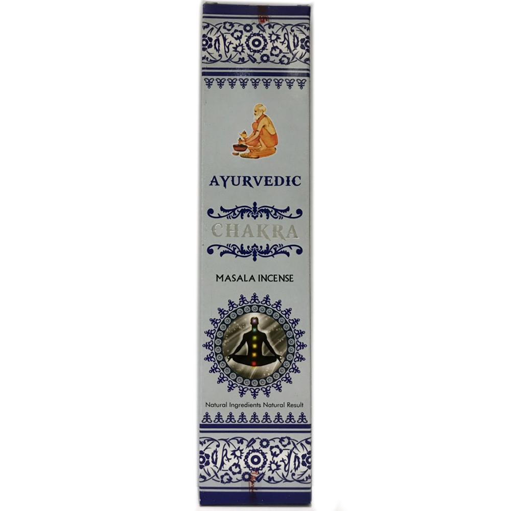Аромапалочки Чакра (Chakra, Agarbathi Works), 15 штук