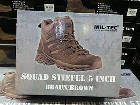 Тактичні черевикиSquad Stiefel 5 Inch, Brown. Sturm Mil-Tec., фото 3