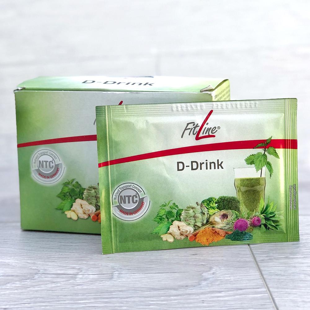 FitLine D-Drink, очищение и детокс организма, витаминное питание, Германия - PM International