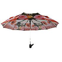 Зонт полуавтомат Susino цветочный принт Разноцветный (43006-7), фото 2