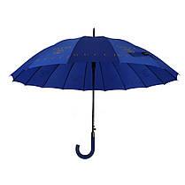 Зонтик-трость полуавтомат Max NEW LOOK Синий (1001-3), фото 2