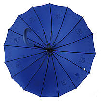 Зонтик-трость полуавтомат Max NEW LOOK Синий (1001-3), фото 3