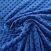 Плюш минки синий, ширина 83 см, плотность 350 г/м