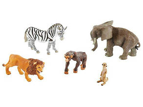 Игрушки звери Spielfiguren Safari Playtive 5 шт LT9922