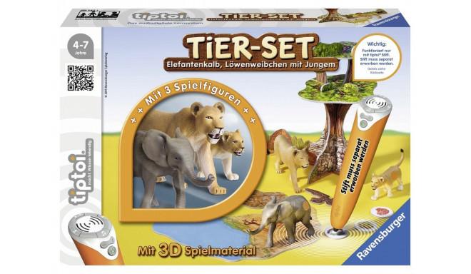 Игровой набор без интерактивной ручки TipToi Tiere set Safari