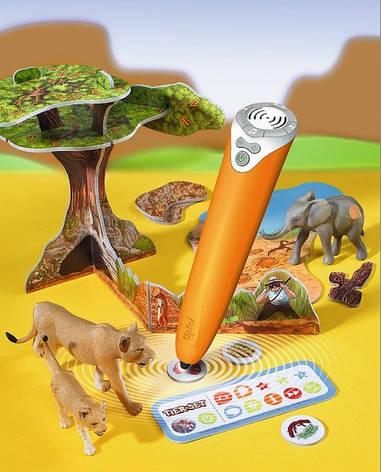 Игровой набор без интерактивной ручки TipToi Tiere set Safari, фото 2
