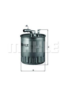 Фильтр топливный Mahle MB Sprinter 611 612/Vito Украина Харьков