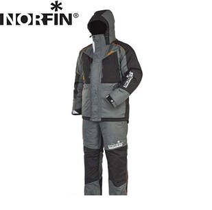 Kостюм зимний Norfin Discovery Gray 2 (-35°) серый