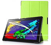 Чехол UltraSlim для Lenovo Tab 2 A10-70F, A10-70L Green + плёнка