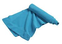 Яркий молодежный демисезонный флисовый шарф ультрамариновый (ярко-голубой)