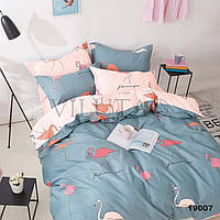 """Полуторное постельное белье подросток """"Фламинго"""""""
