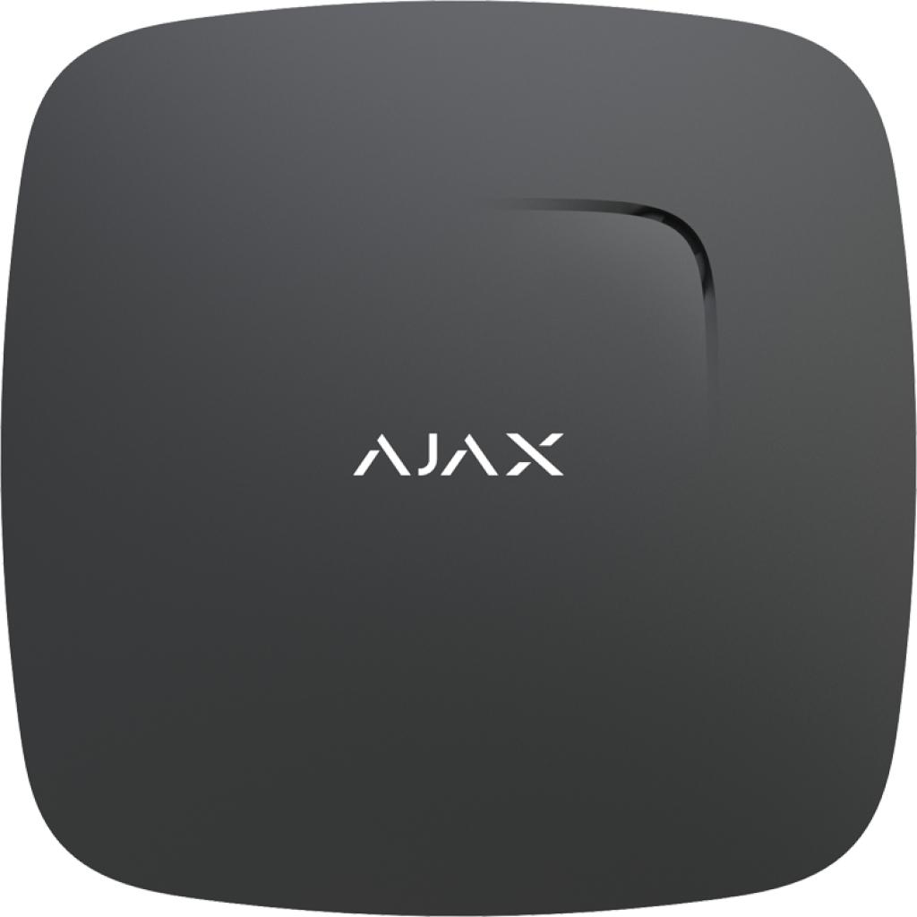 Датчик дыма Ajax FireProtect Plus Black (5636), фото 1