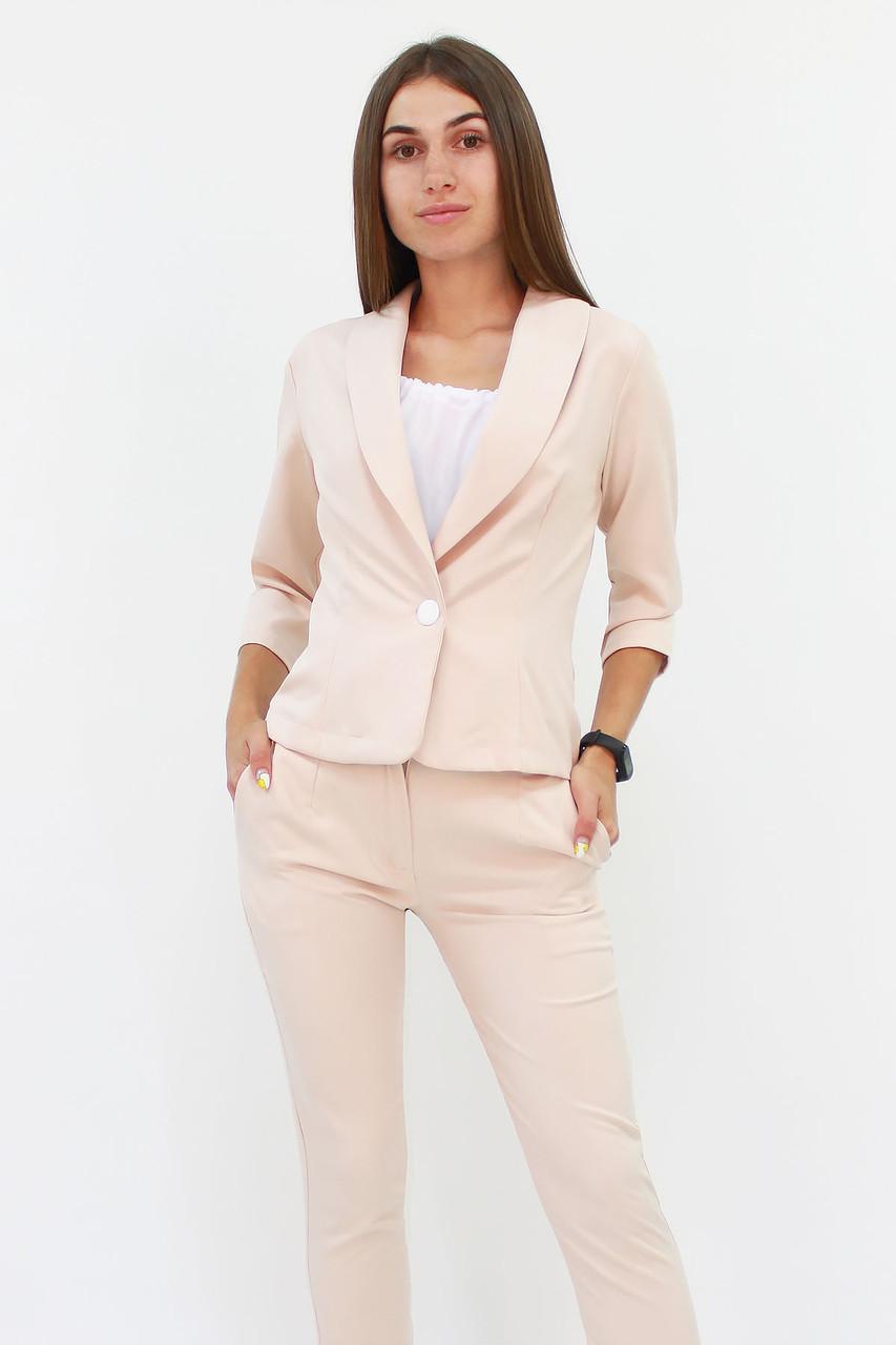 S, M, L, XL / Вишуканий жіночий костюм Melage, бежевий