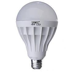 Лампочка светодиодная UKC Led E27-18W Круглая