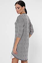 Женское асимметричное платье в клетку (Christie fup), фото 3