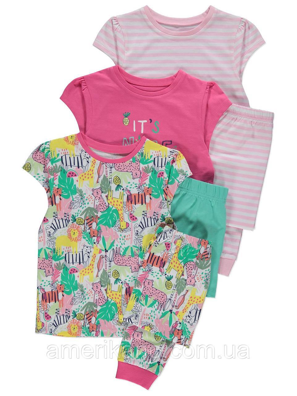 Хлопковая пижама для девочки от George (Джордж, Англия) 1,5-2 года на рост 86-92 см. Цена за штуку.