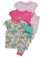 Хлопковая пижама для девочки от George (Джордж, Англия) 1,5-2 года на рост 86-92 см. Цена за штуку., фото 1