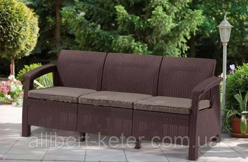 Комплект садових меблів Corfu Love Seat Max