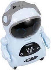 Карманный интерактивный робот Jiabaile JIA-939A Blue