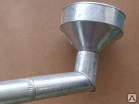 Воронка прямая с ливнеприемником Ø выхода 100 мм