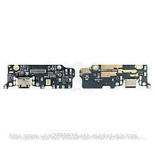 Шлейф для Xiaomi Mi6x, Mi A2 Original Разъем зарядки, микрофон