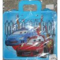 Портфель с пласт. ручками Cars 9122 (PP-KX-809-E)