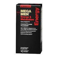 Витамины  Mega men energy& metabolism от GNC  90 капсул, фото 1