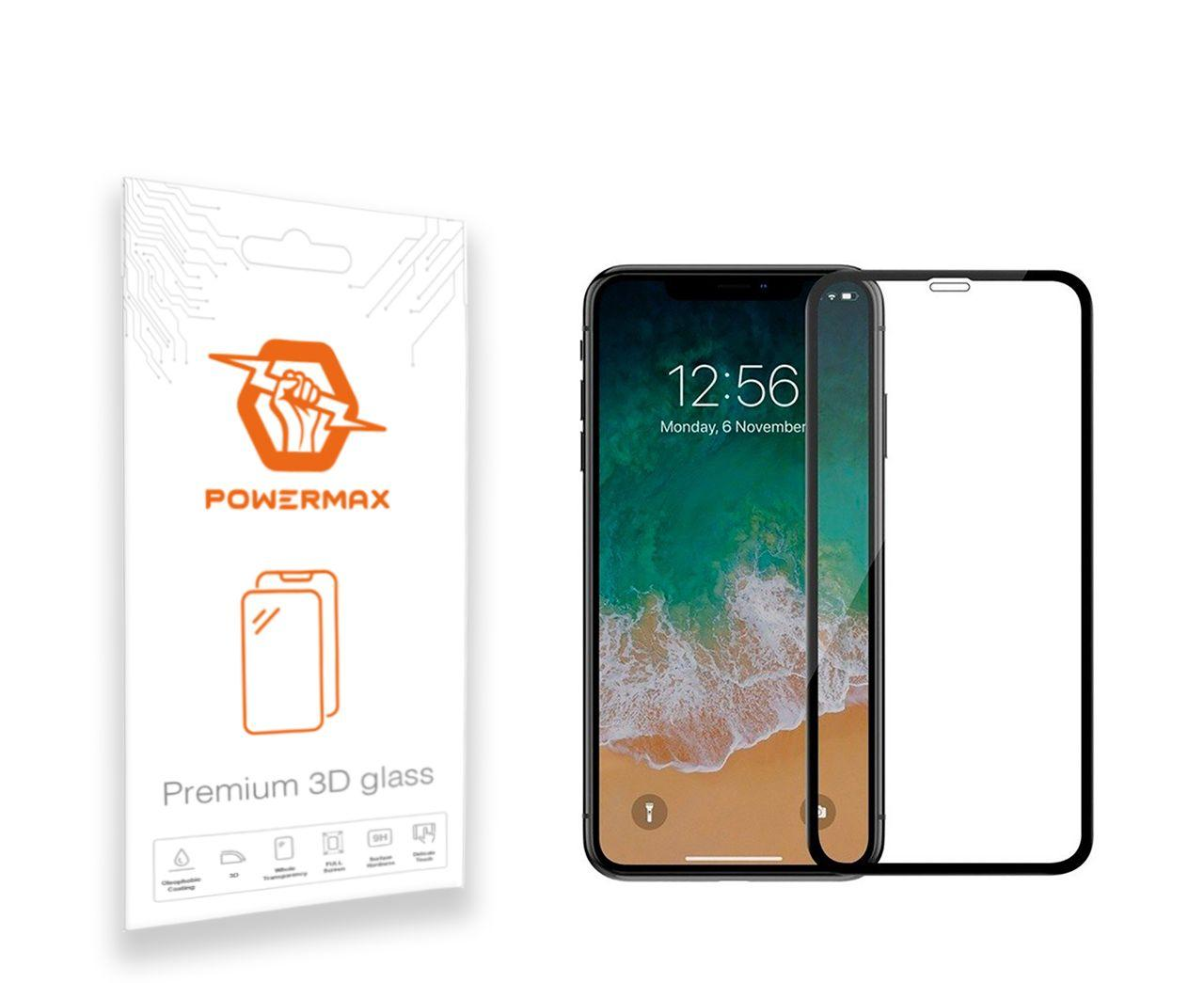Защитное стекло Powermax 3D Premium Apple iPhone XS Max, 11 Pro Max Black (PWRMX3DIPHXSMB)