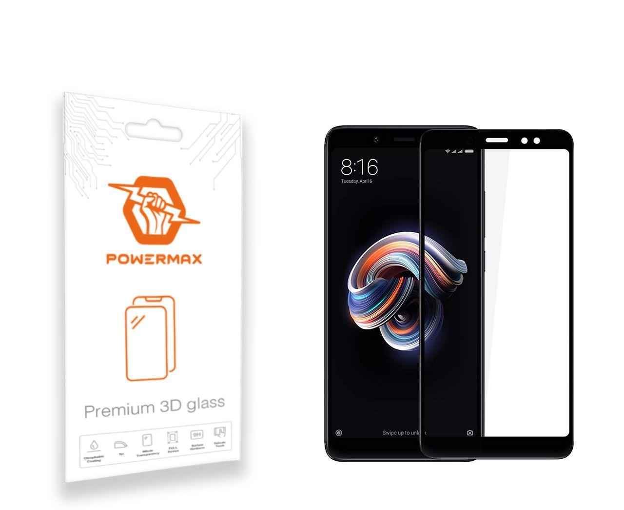 Защитное стекло Powermax 3D Premium Xiaomi Redmi Note 5, Redmi Note 5 Pro Black (PWRMX3DXRN5B)