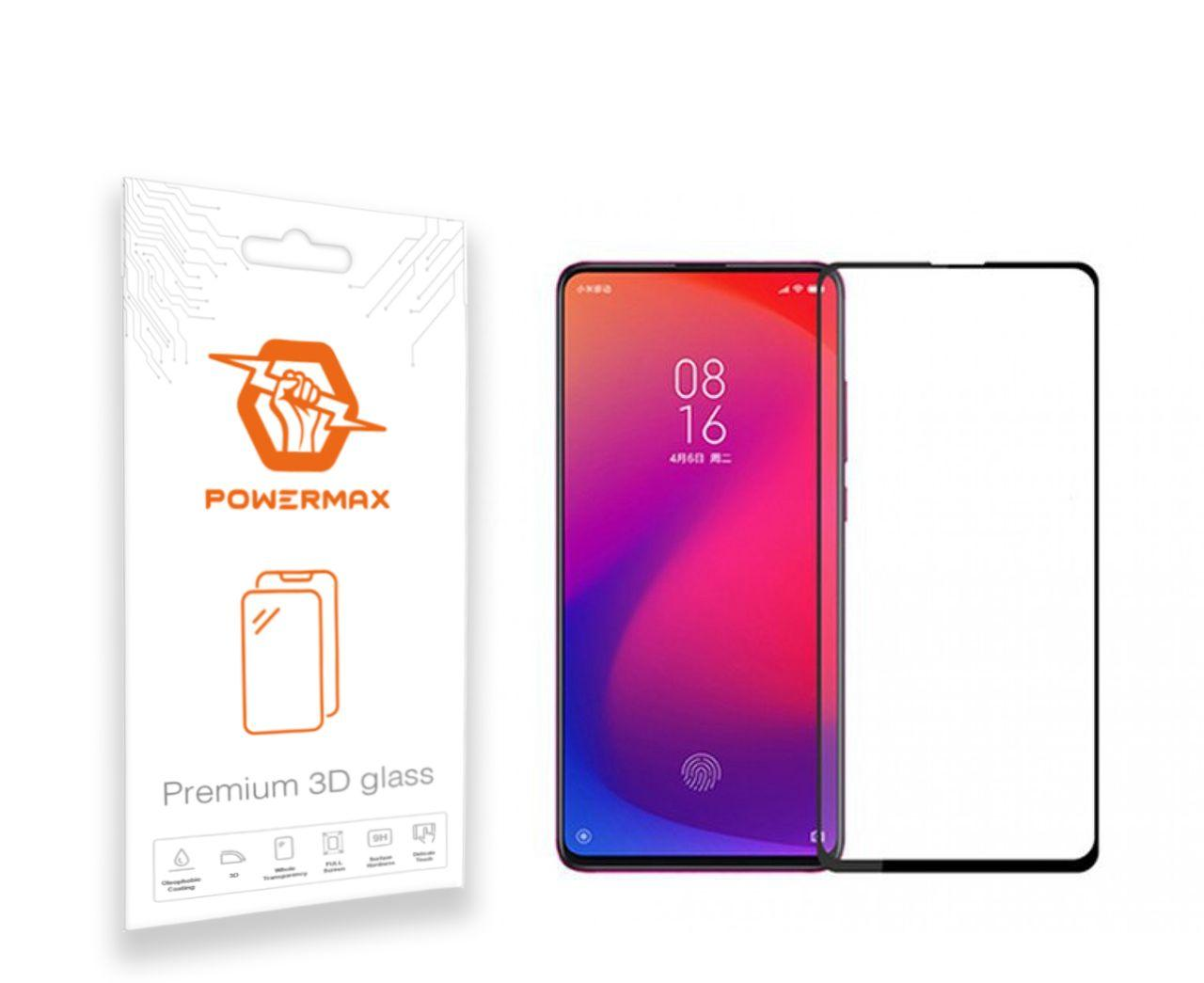 Защитное стекло Powermax 3D Premium Xiaomi Mi 9T, Mi 9T Pro, Redmi K20, Redmi K20 Pro Black (PWRMX3DXM9TB)