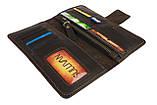 Гаманець чоловічий шкіряний купюрник для грошей портмоне картхолдер SULLIVAN, фото 3