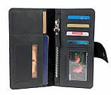 Кошелек мужской купюрник тревел-кейс travel портмоне картхолдер SULLIVAN, фото 4