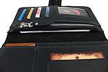 Гаманець чоловічий купюрник тревел-кейс travel портмоне картхолдер SULLIVAN, фото 5