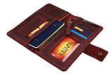 Гаманець жіночий купюрник тревел-кейс travel портмоне картхолдер SULLIVAN, фото 8