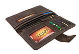 Кошелек женский купюрник тревел-кейс travel портмоне картхолдер SULLIVAN, фото 2