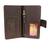 Кошелек мужской купюрник тревел-кейс travel портмоне картхолдер SULLIVAN, фото 2