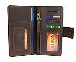 Кошелек мужской купюрник тревел-кейс travel портмоне картхолдер SULLIVAN, фото 3