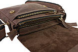 Сумка мужская вертикальная кожаная планшет SULLIVAN, фото 3