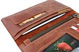 Кошелек женский купюрник тревел-кейс travel портмоне картхолдер SULLIVAN, фото 4