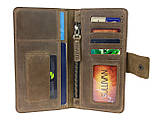 Гаманець жіночий купюрник тревел-кейс travel портмоне картхолдер SULLIVAN, фото 2