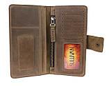 Гаманець жіночий купюрник тревел-кейс travel портмоне картхолдер SULLIVAN, фото 3