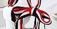 Сумка в стиле Гуччи Сильвия + 3 ремешка в комплекте (0243) Белый, фото 3