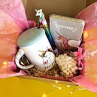 Подарок для девушки, подруги, ребенка в стиле Единорог Unicorn Style