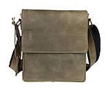 Сумка мужская вертикальная кожаная планшет SULLIVAN, фото 2