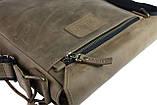 Сумка мужская вертикальная кожаная планшет SULLIVAN, фото 7