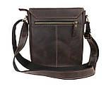 Сумка мужская вертикальная кожаная планшет SULLIVAN smvp118(30) коричневая, фото 2